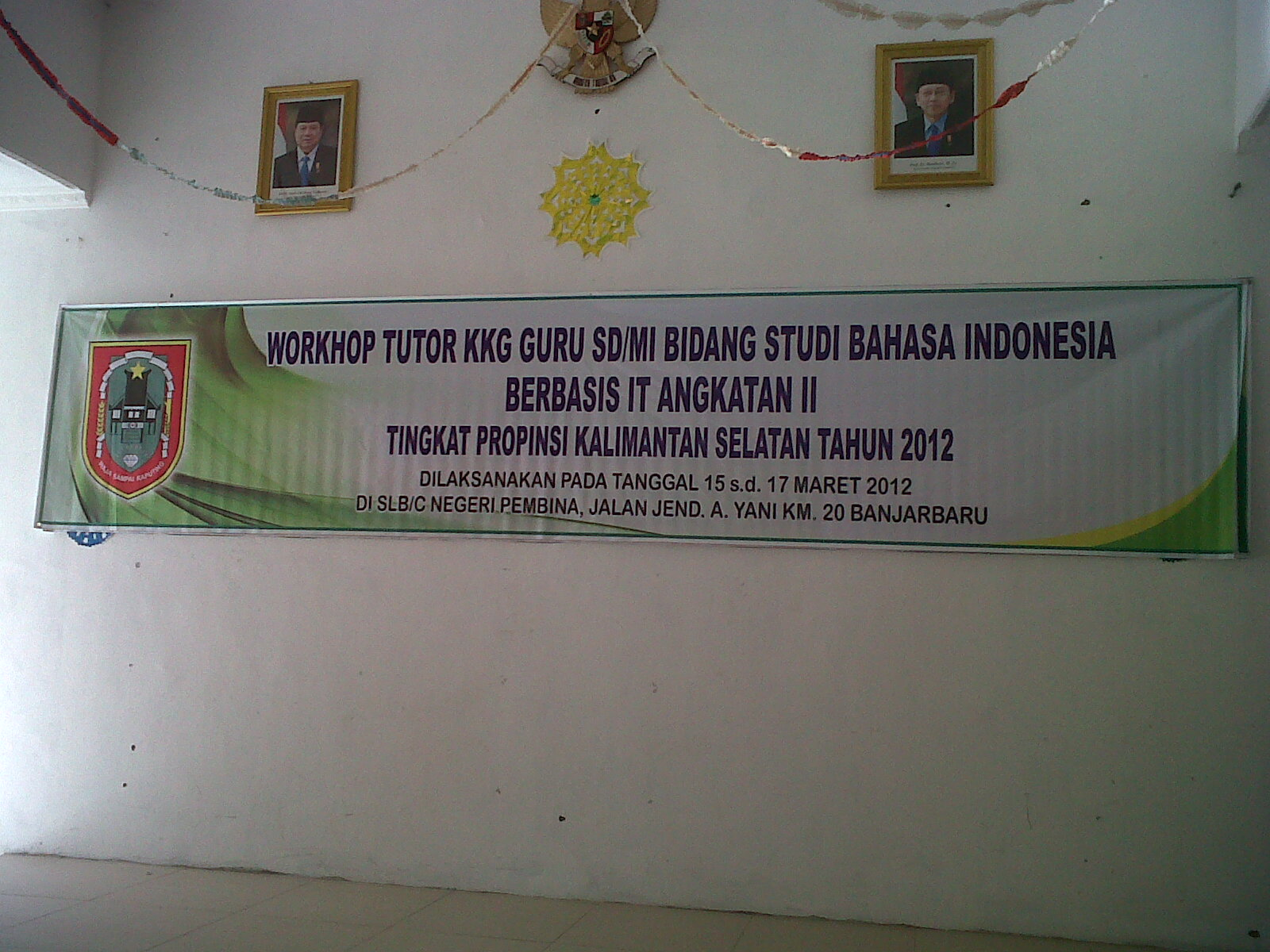 Workshop Tutor KKG SD/MI Bidang Studi Bahasa Indonesia Berbasis IT