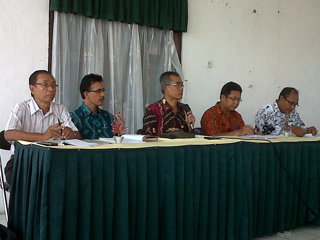 Rapat Koordinasi PORSENI PGRI Kalimantan Selatan Tahun 2012